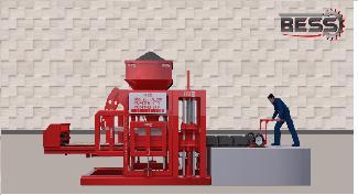 Вибропресс Для Производства Шлакоблоков - Полуавтоматическая Машина Prs 400 Мини Завод  Для Производства Стенового Камня