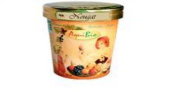 Crème glacée nougat - Glaces biologiques