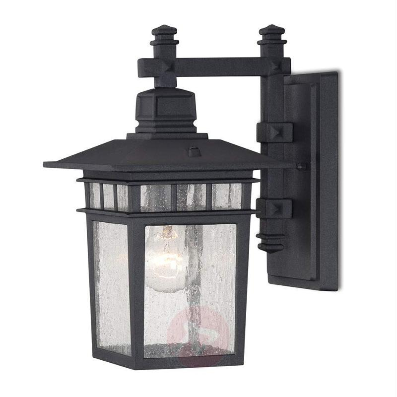 Square outdoor wall light Linden, 32 cm in height - Outdoor Wall Lights