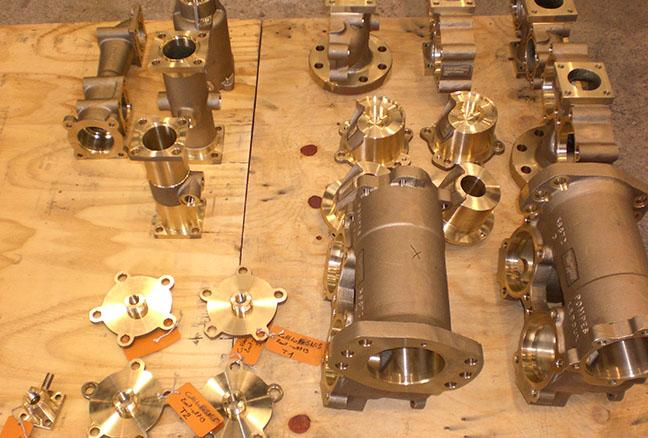 Set of pump casting - Pumps and turbines