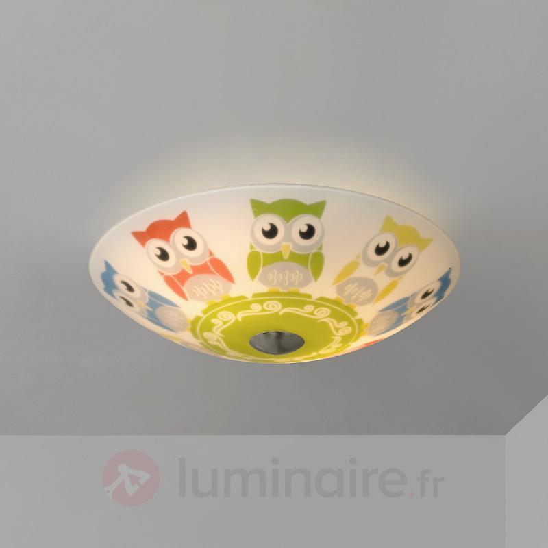 Plafonnier rond pour chambre d'enfant Eula, 30 cm - Chambre d'enfant