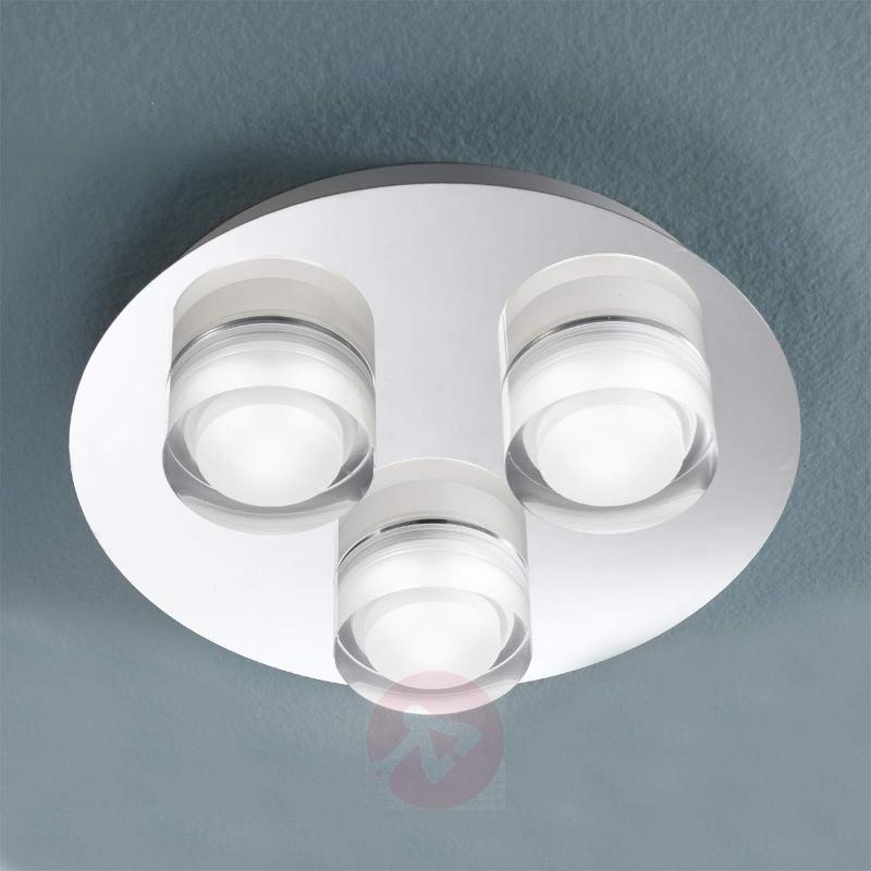 Mila LED Spotlight Three Bulbs Round - Ceiling Lights