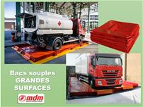 Bacs souples grandes surfaces - null