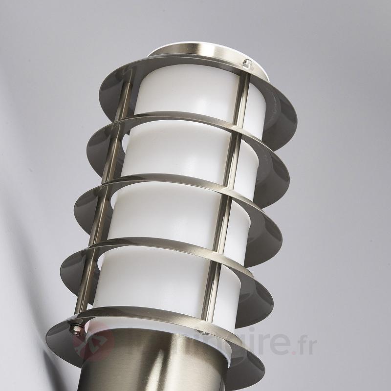 Applique extérieure Selina en forme de torche - Appliques d'extérieur inox