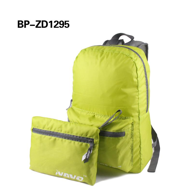 Durable travel foldable backpack