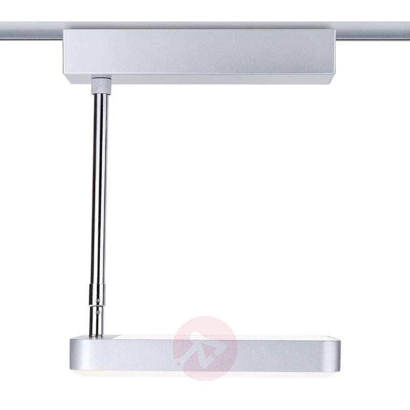 Single lamp LED pillow for URail,1-circuit, black - U-Rail