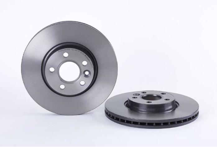 Brake disc plate -