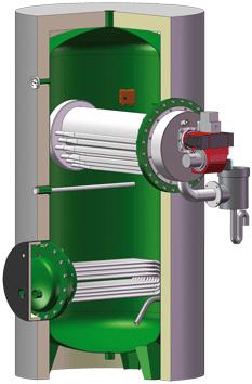 Hydro-accumulateur  - série MASTER SOLAIRE GAZ