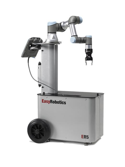 ER Work - mobile robot application, which fits to every machine