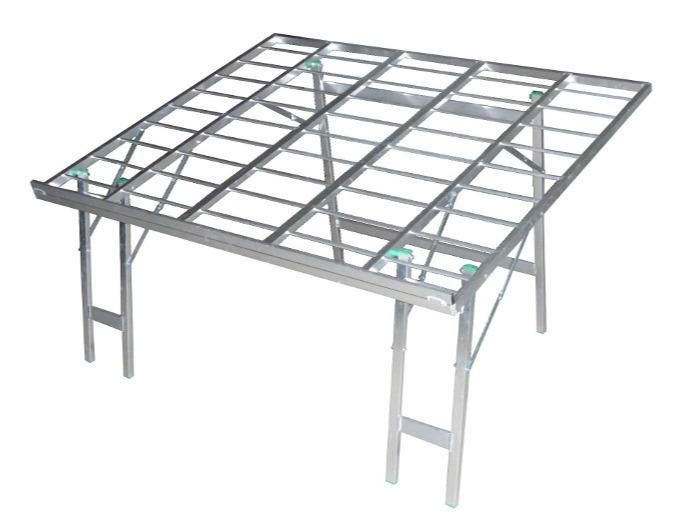 Table NEW FRUIT  - Table pliante inclinée en aluminium NEW FRUIT pour magasins de fruit et légumes