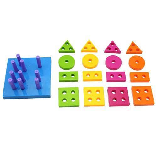 Shape Sorting Board - Wishtime Shape Sorting Board