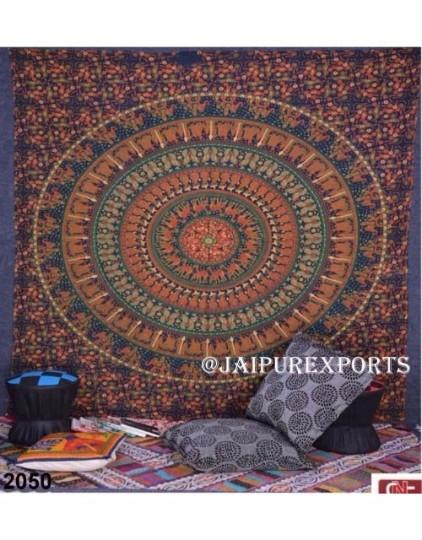 Indian Mandala Wall Hanging Hippie Boho Tapestry Home Decor