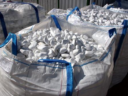White pebbles - Ajax White Pebbles