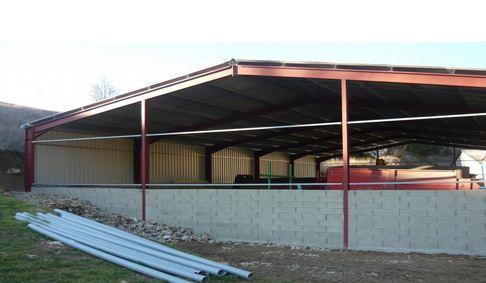 Hangars et entrepôts - Constructions activités industrielles