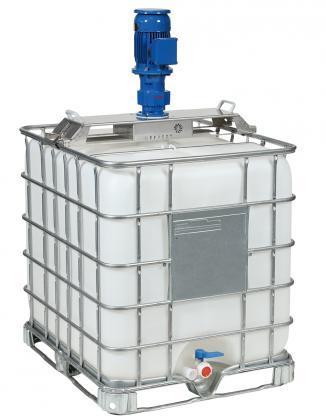 CR-E - electric tote tank mixer for plastic IBCs - Tote tank mixers