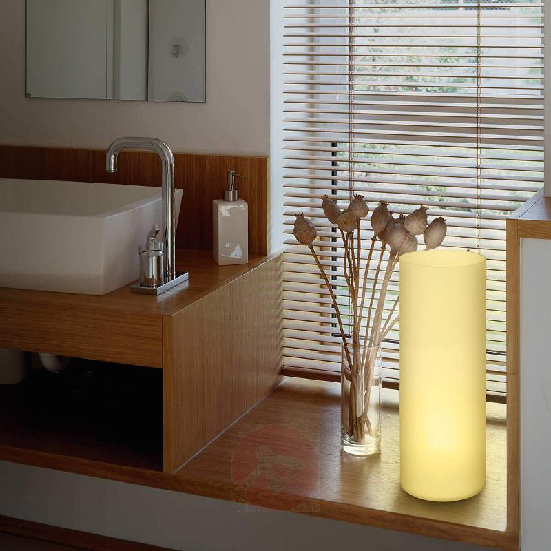 Tube-shaped Elluno-C table lamp LED RGBW - Window Sill Lights
