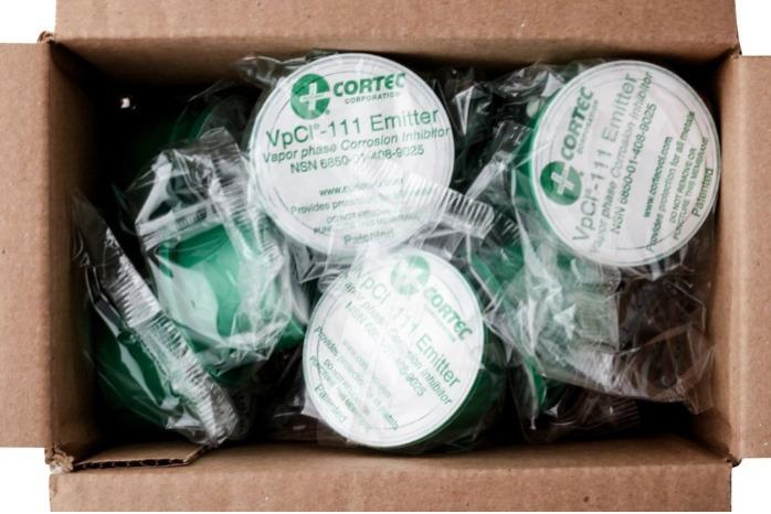 Cortec VPCI 111 - VPCI® Emitter kapszulák | Fémek korrózióvédelme
