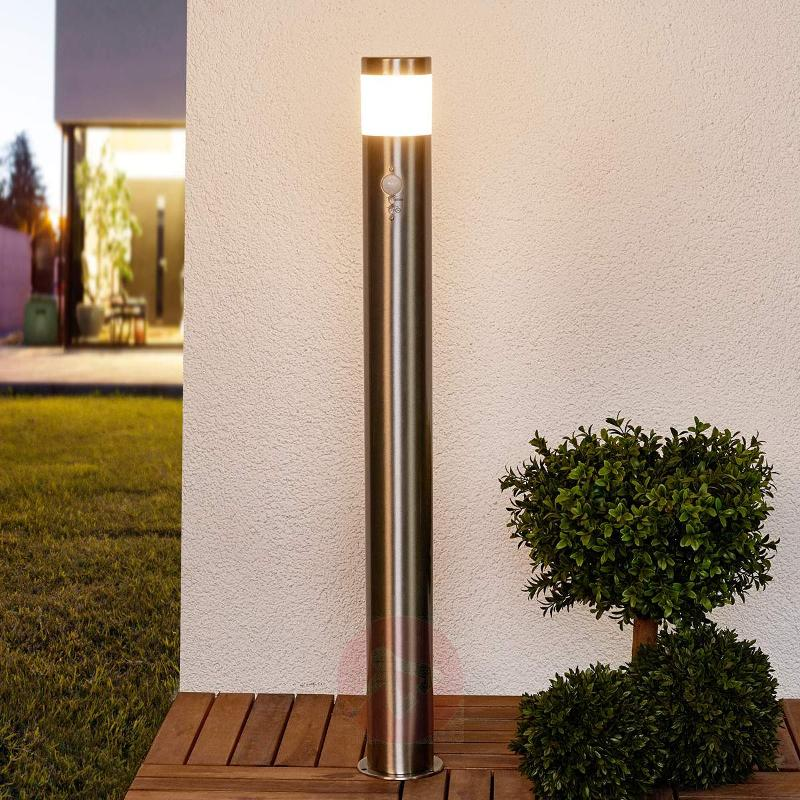 LED bollard light Belina including motion detector - Path and Bollard Lights