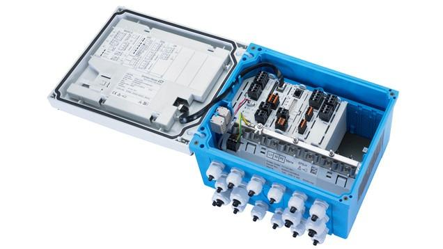Transmisor de 8 canales Liquiline CM448 -
