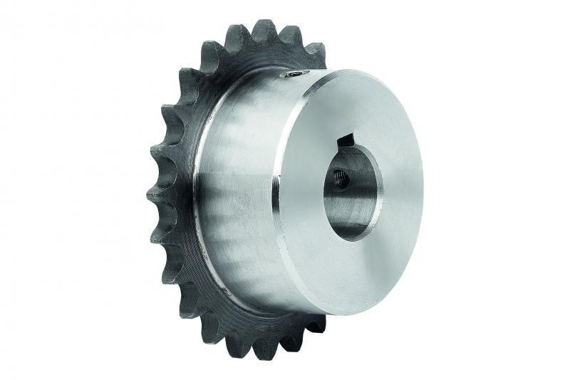 Kettenräder einbaufertig - Kettenräder einfach DIN ISO 606, einbaufertig