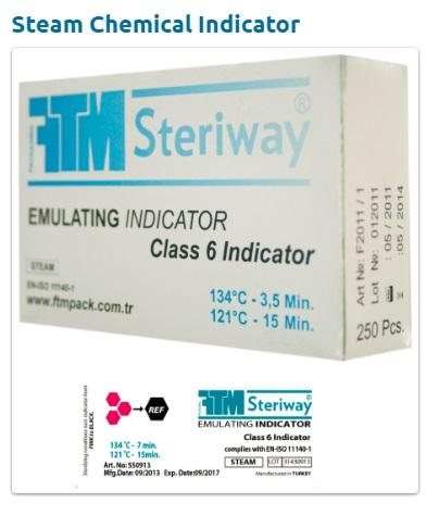 Medical indicators , Autoclave Tape