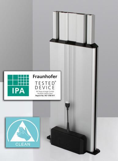 Columna elevadora Multilift II clean - Idóneo para su aplicación en la sala limpia