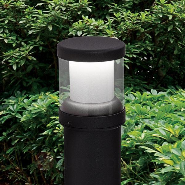 Borne lumineuse Henrick aluminium avec LED - Bornes lumineuses LED