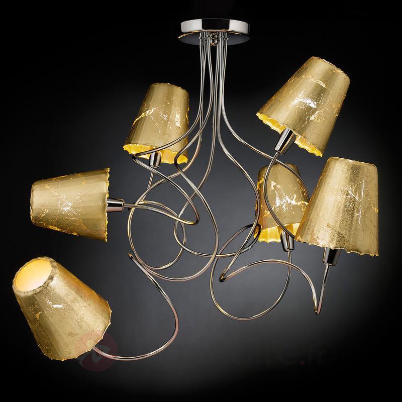 Plafonnier ouvragé Aria à 6 lampes - Tous les plafonniers