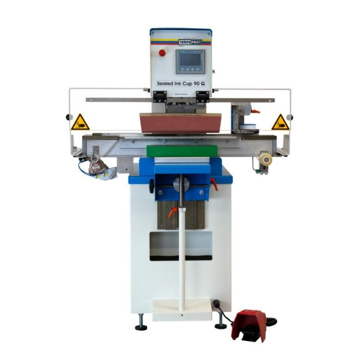 SEALED INK CUP 90 Q Tampondruckmaschine - Querrakel-Tampondruckmaschine