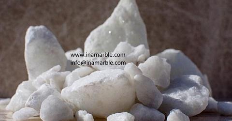 Calcite Lumps , CaCO3 : >97 % - CALCITE LUMPS : WHITENES : 98 %