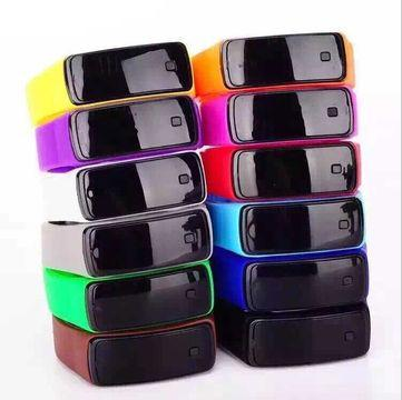 Silicone digital watches in Japan - Silicone digital watches with silicone band jelly gel