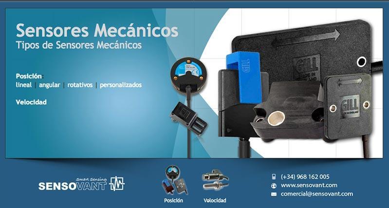 Sensores Mecanicos - Tipos de sensores mecanicos