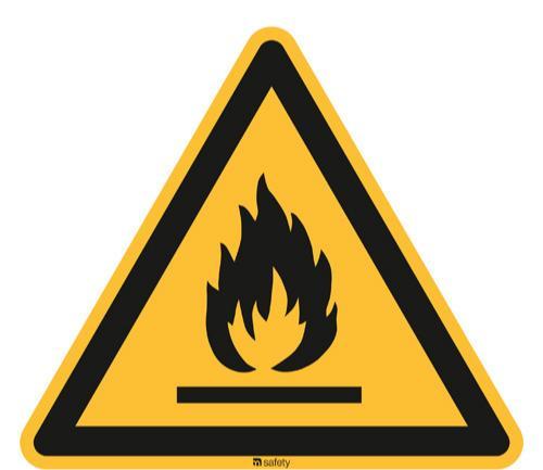 [W021]  Warnung vor feuergefährlichen Stoffen - ASR A1.3/ISO 7010 [W021]