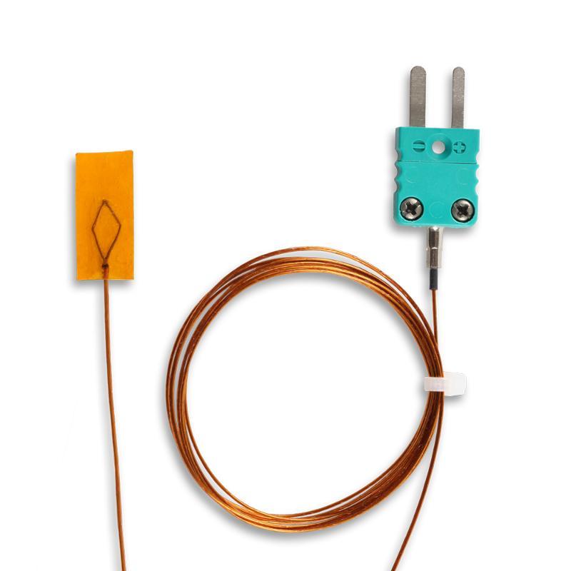 Self-adhesive   Kapton adhesive foil   Type K - Surface thermocouple