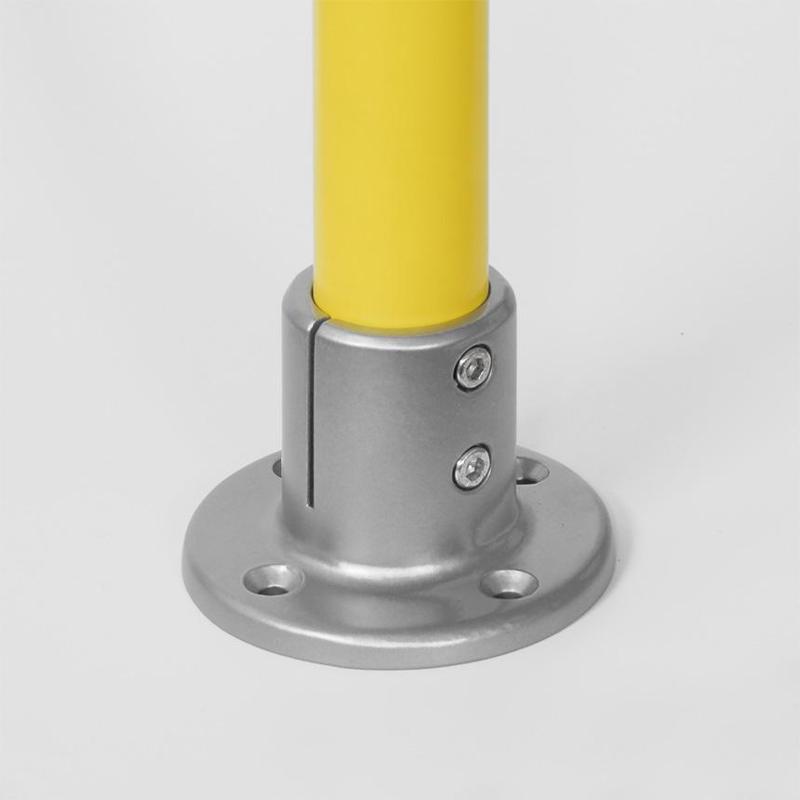 Universal tube connectors - Floor and Ceiling Bracket Nr. 10