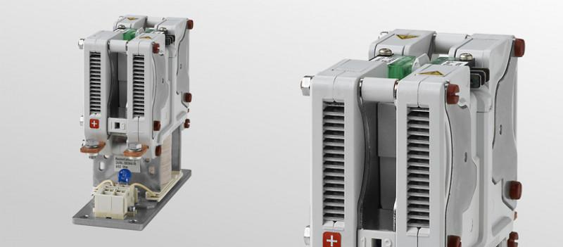 Double pole NO contactors C295 - Compact double pole NO contactors for voltages up to 1,500 V and 120 A max