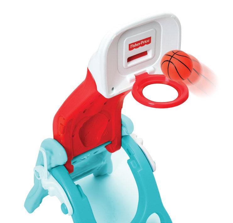 Fisher Price Zjeżdżalnia, koszykówka - koszykówka, Zjeżdżalnia