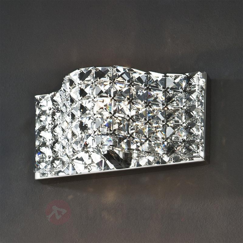 Applique Onda en cristal 25 cm - Appliques en cristal