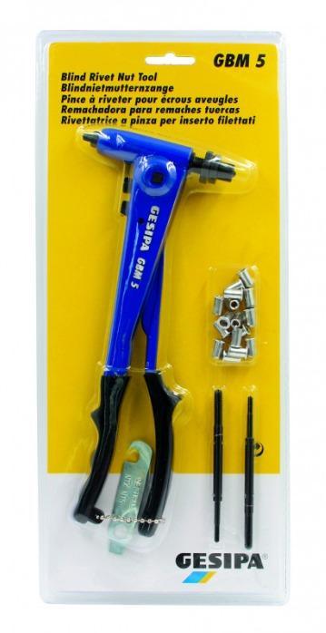 Blind rivet nut tool GBM 5 - Blind rivet nut tool GBM 5