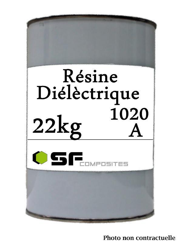 DURCISSEUR DIELEC RE1020. 22KG - Resine diélectrique Résine diélectrique
