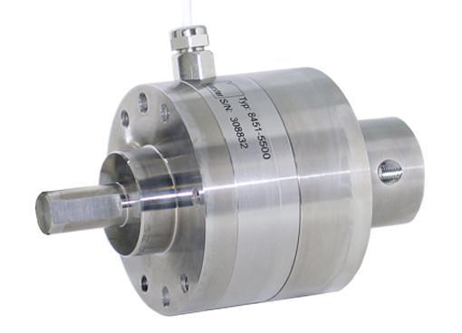 压缩型负荷传感器 - 8552, 8451 - 简单安装在压印机上,结构紧凑,结构坚固,密封型,适用于所有标准手动压力机,印章孔径为10 H7。 20 H7,适应右手和左手用户。