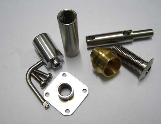 metal machined parts - We custom produce all kinds of machined parts from aluminum,steel,brass...