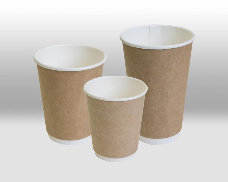 Kraft Double Wall paper cup - THERMOCUP