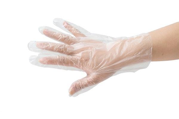 PE gloveMaterial: HDPE/LDPE                                 - Matériel: HDPE / LDPE Couleur: Blanc / bleu / transparent Poids: 6gram / 7gram T