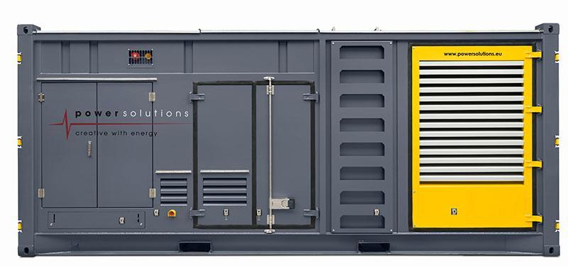 Générateur 1250 kVA - Fiche technique - Générateur 1250 kVA