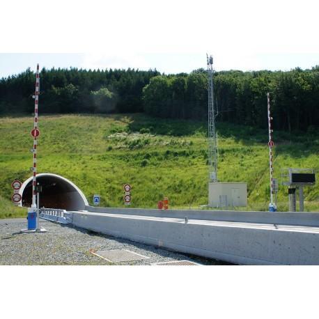 Barrière autoroute LBA 10 - Barrière autoroute, tunnel