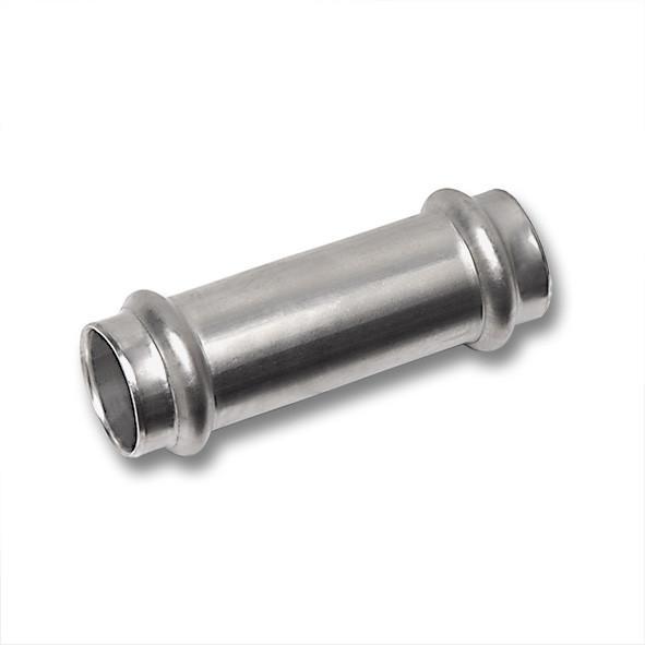 NiroSan® Schiebemuffe, beidseitig mit Pressanschluss - NiroSan® Schiebemuffe, beidseitig mit Pressanschluss, Edelstahlfittings