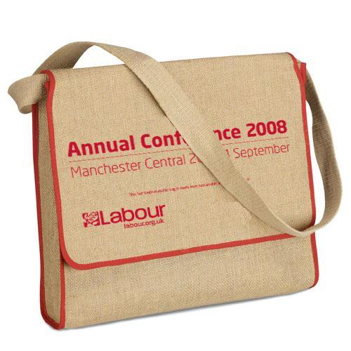 Event Exhibition Jute Conference Bag - Event Exhibition Jute Conference Bag, Promotional Jute Bag
