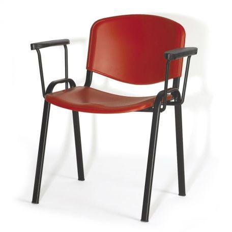 Chaise De Conférence Plastique Avec Tablette - Chaises De Collectivités