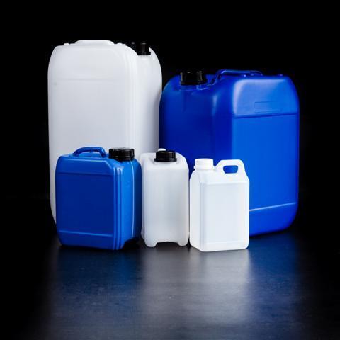 Jerricans plastiques lourds gerbables/empilables - De 2 litres à 30 litres, une gamme de jerricans industriels avec homologation